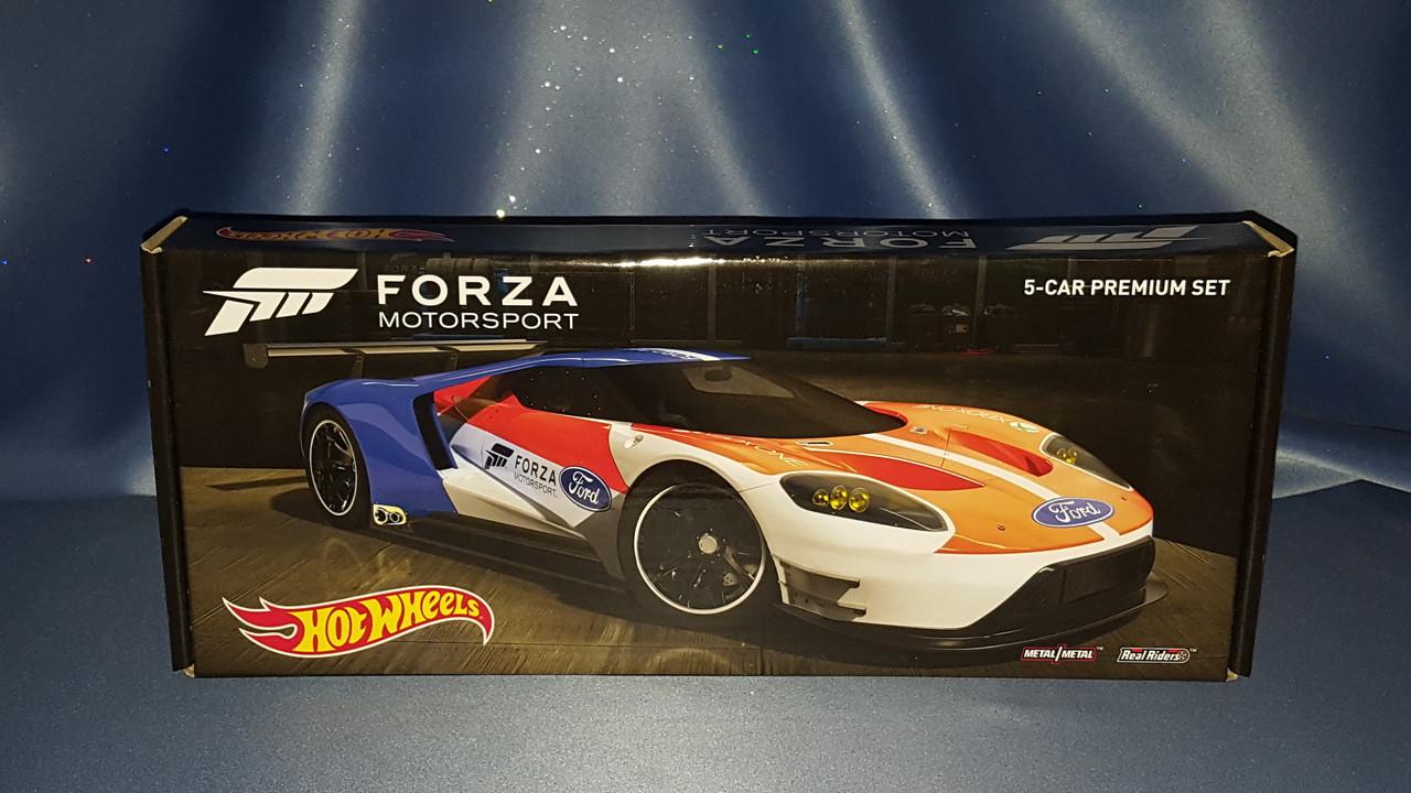 Hot Wheels Forza Motorsport 5 Car Premium Set By Mattel Now