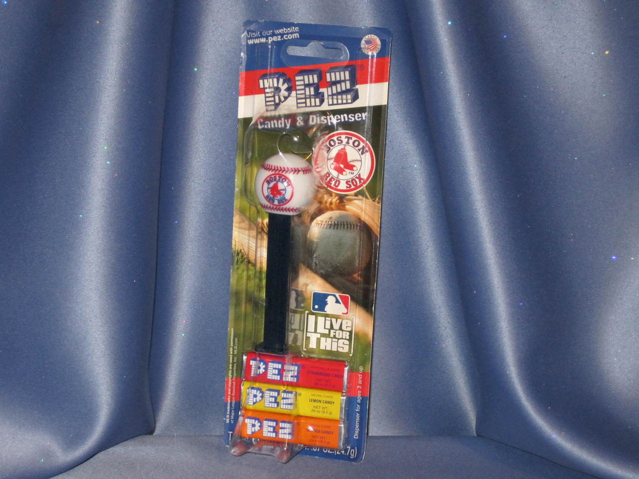 "Boston Red Sox ""Baseball"" Candy Dispenser by PEZ"