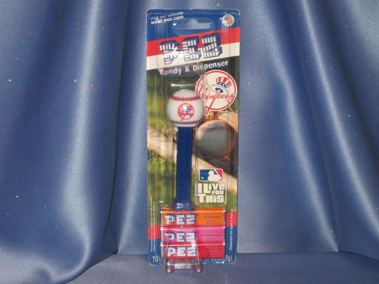 "New York Yankees ""Baseball"" Candy Dispenser by PEZ."