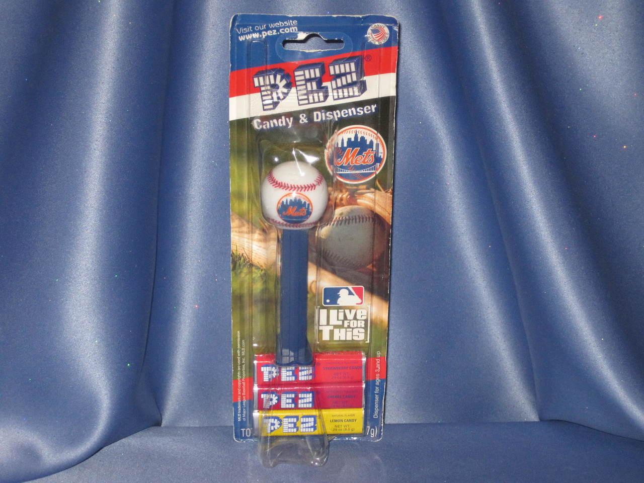 "New York Mets ""Baseball"" Candy Dispenser by PEZ."