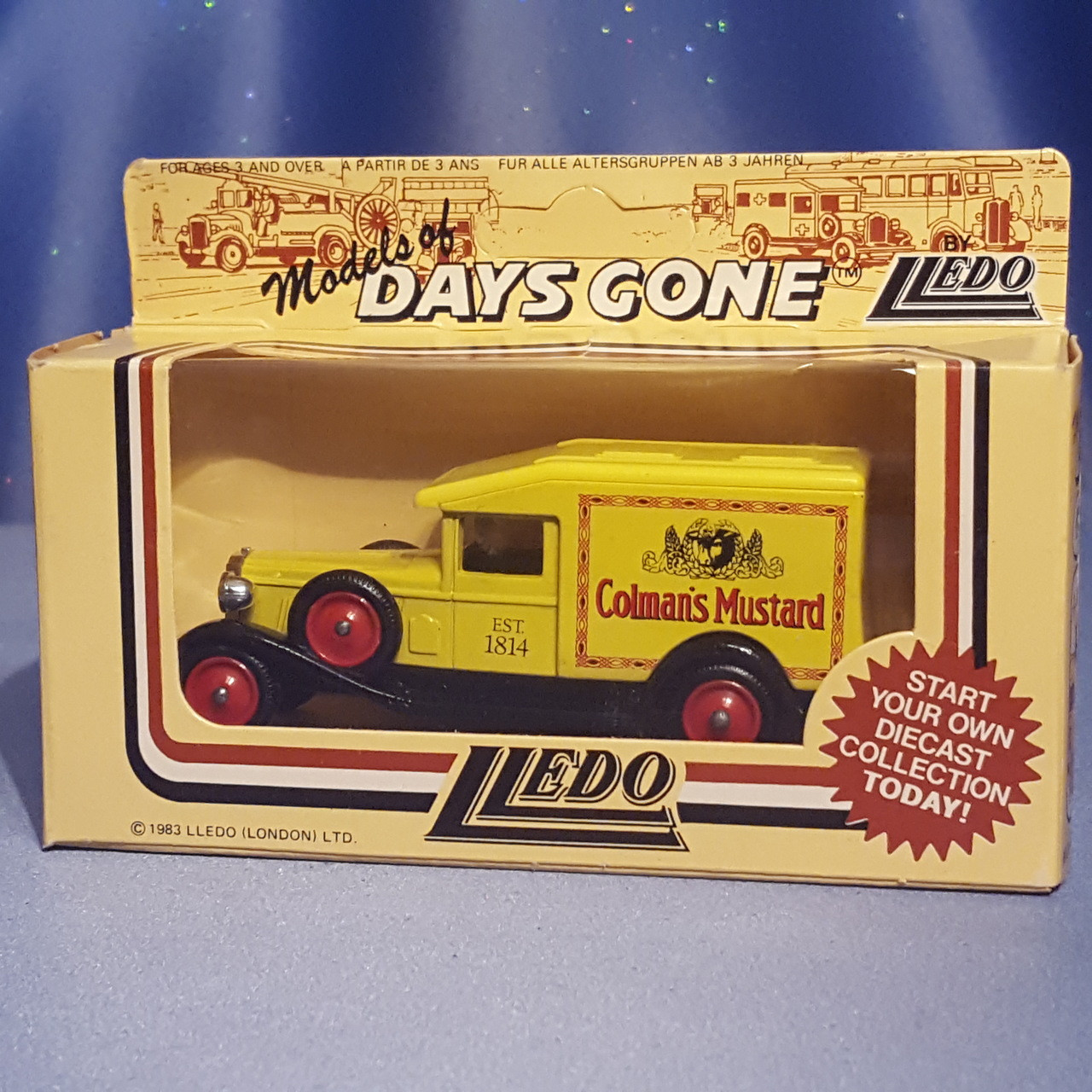 1930's Delivery Truck - Models of Days Gone by Lledo.