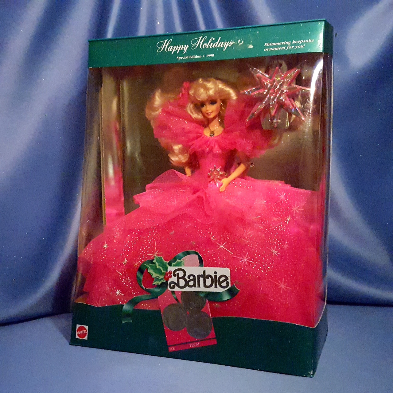 Barbie - Happy Holidays - Special Edition 1990 by Matte