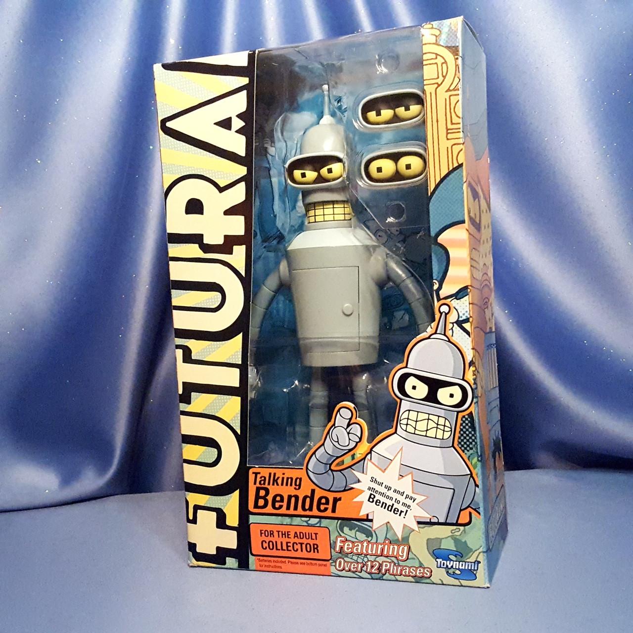 Talking Bender Bending Rodriguez Futurama by Toynami