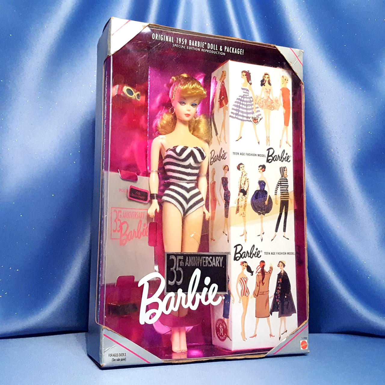 Barbie 35th. Anniversary Doll - Reproduction of the Ori