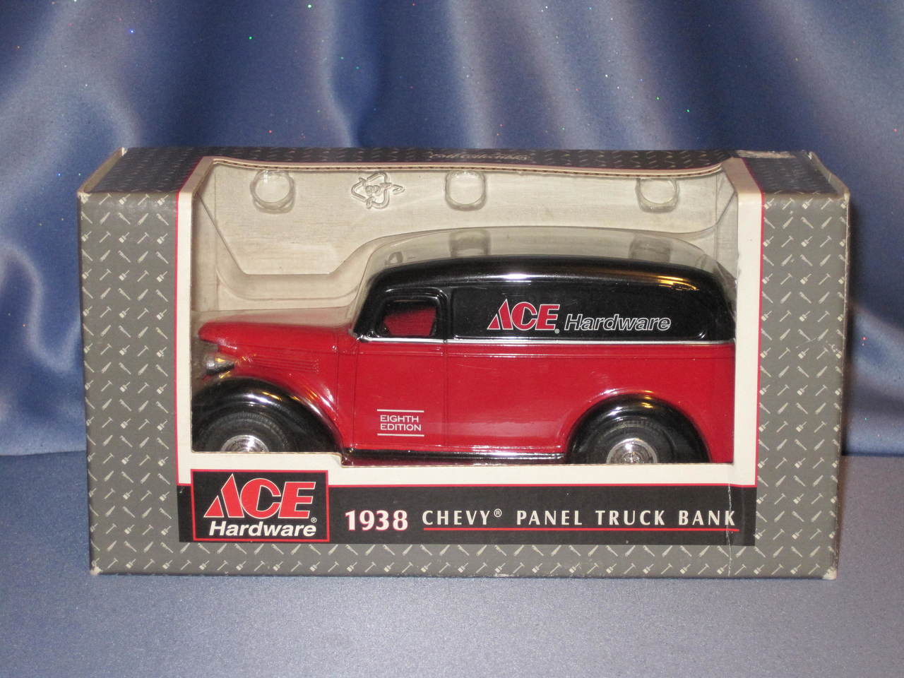 Ertl Ace Hardware 1938 Chevy Panel Truck Bank.