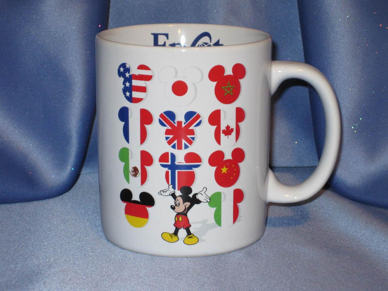 Disney's - Epcot Center - World Flag - Mickey Mouse Mug