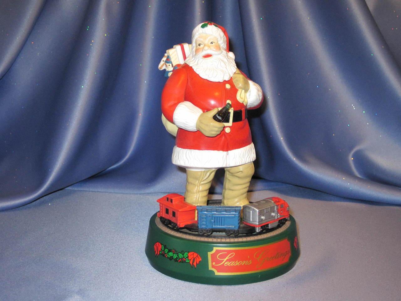 Coca-Cola - Santa Claus with Train - Coin Bank by ERTL.