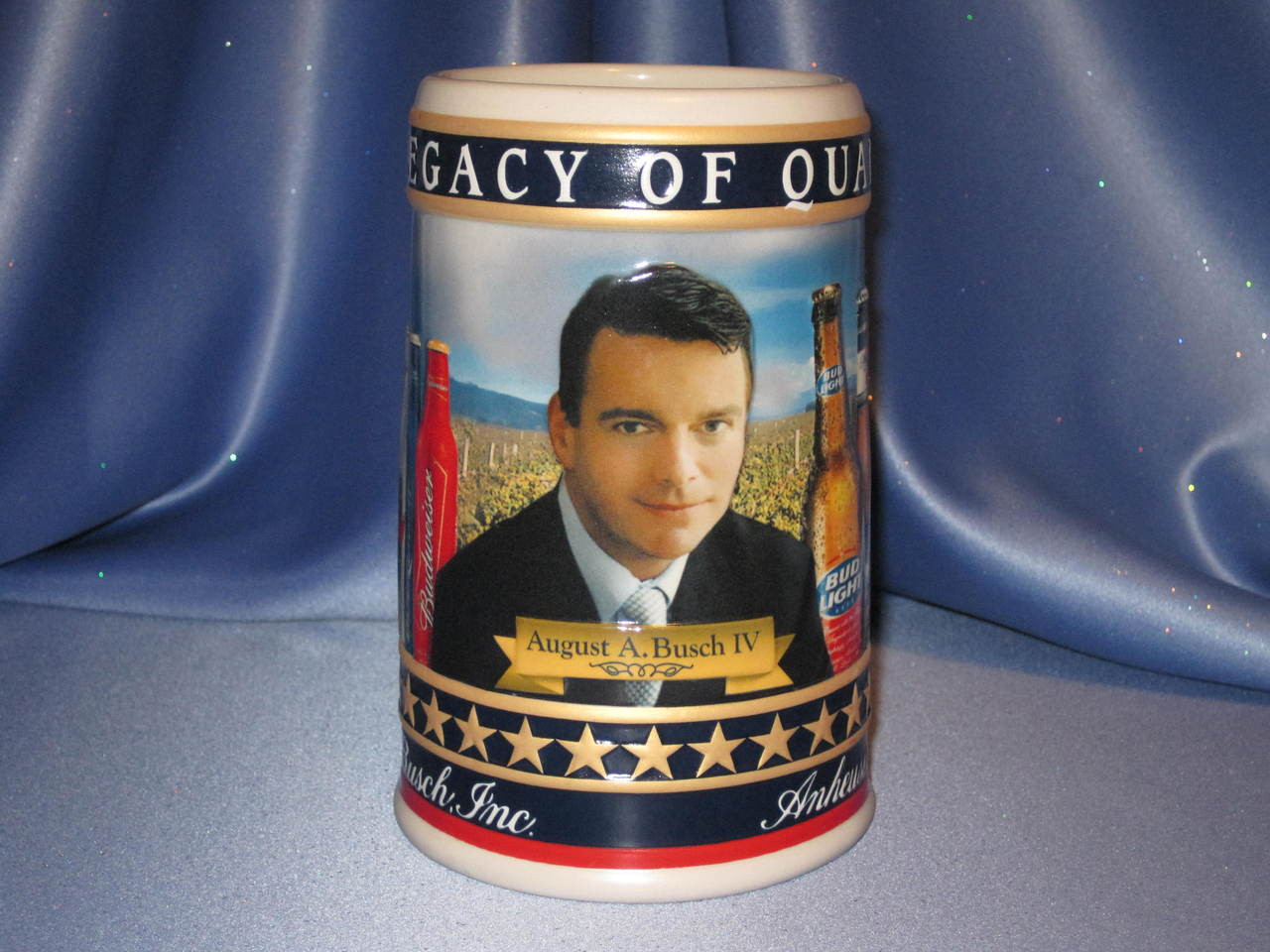 August A. Busch IV - 2007 State Convention Stein/Mug Fa