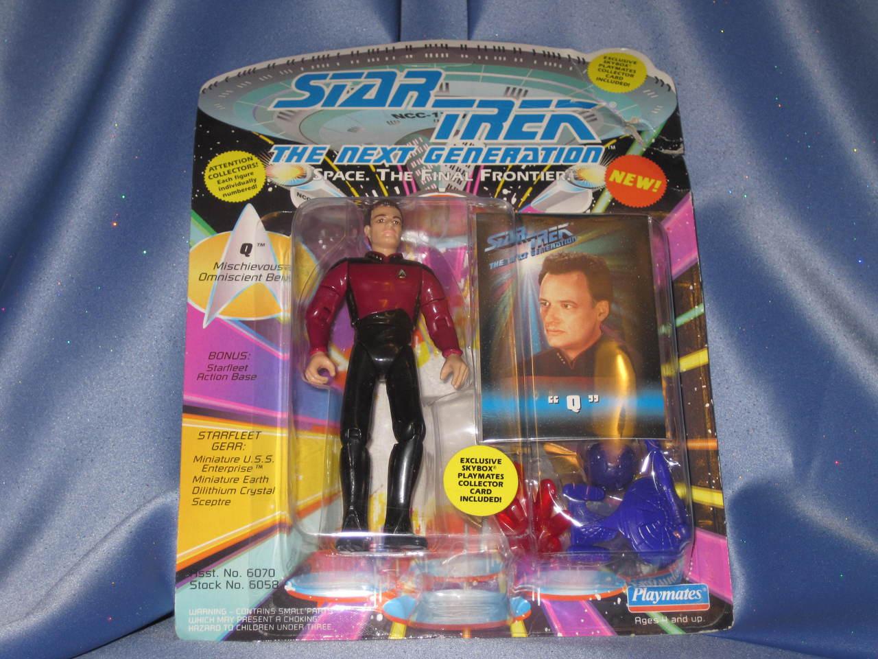 "Star Trek - The Next Generation - ""Q""."