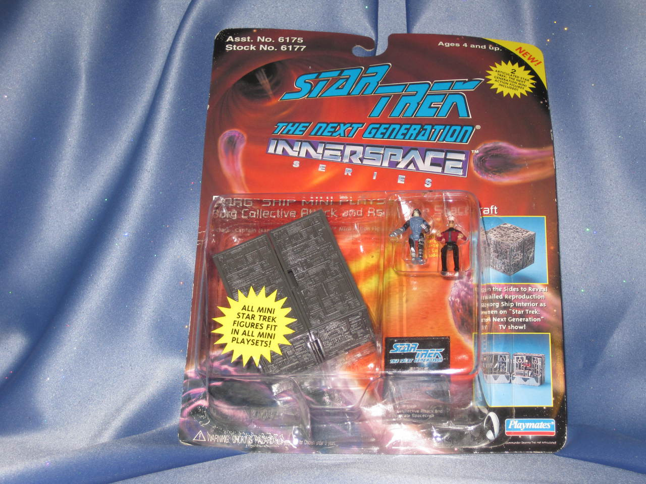 Star Trek - The Next Generation Innerspace - Borg Ship