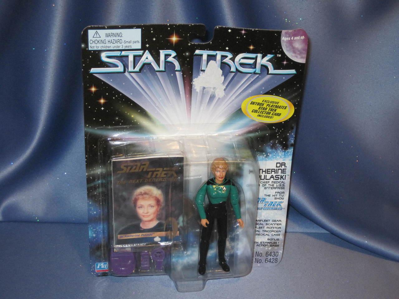 Star Trek - Dr. Katherine Pulaski - Action Figure.