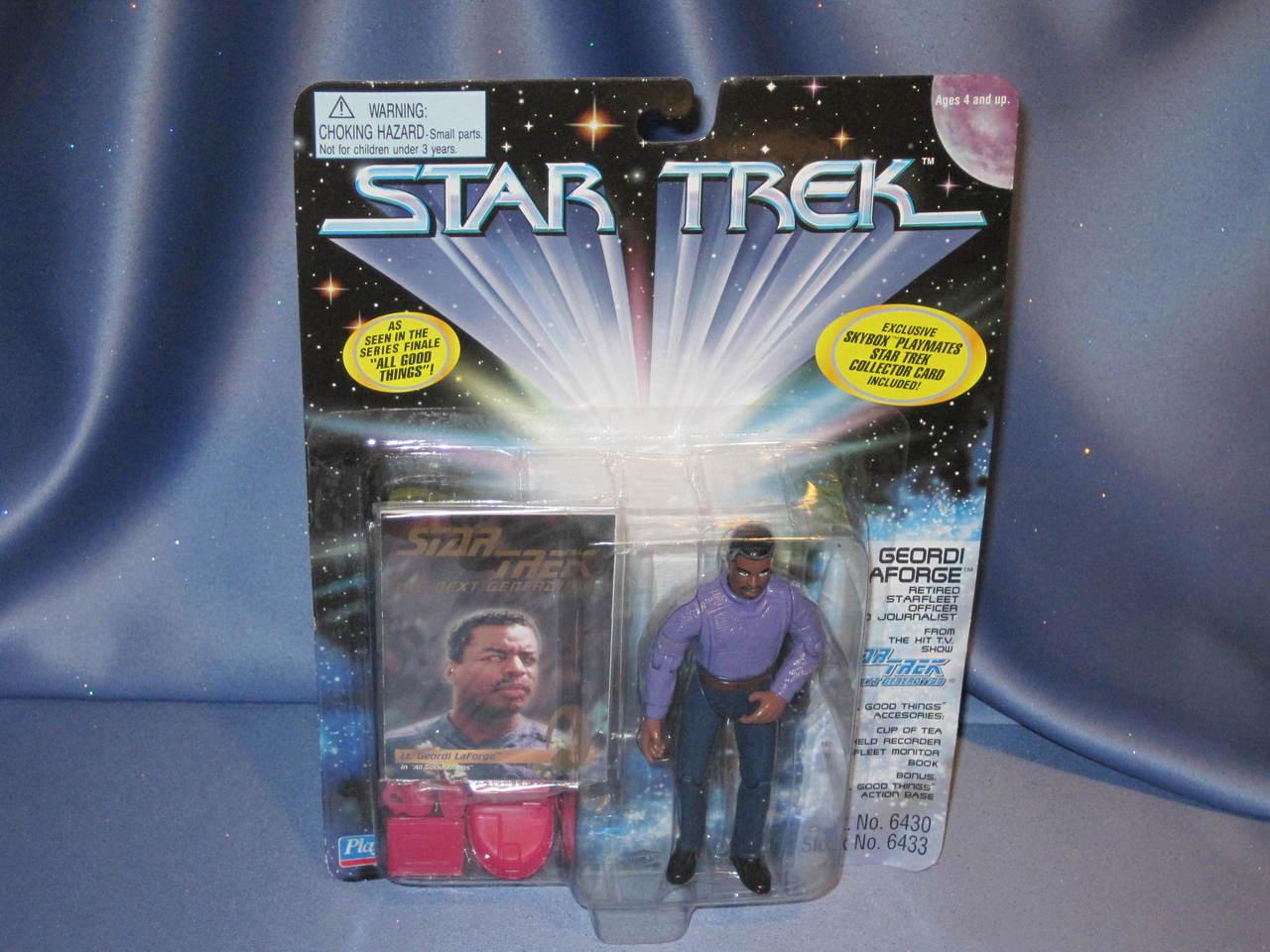 Star Trek - Geordi LaForge - Action Figure.