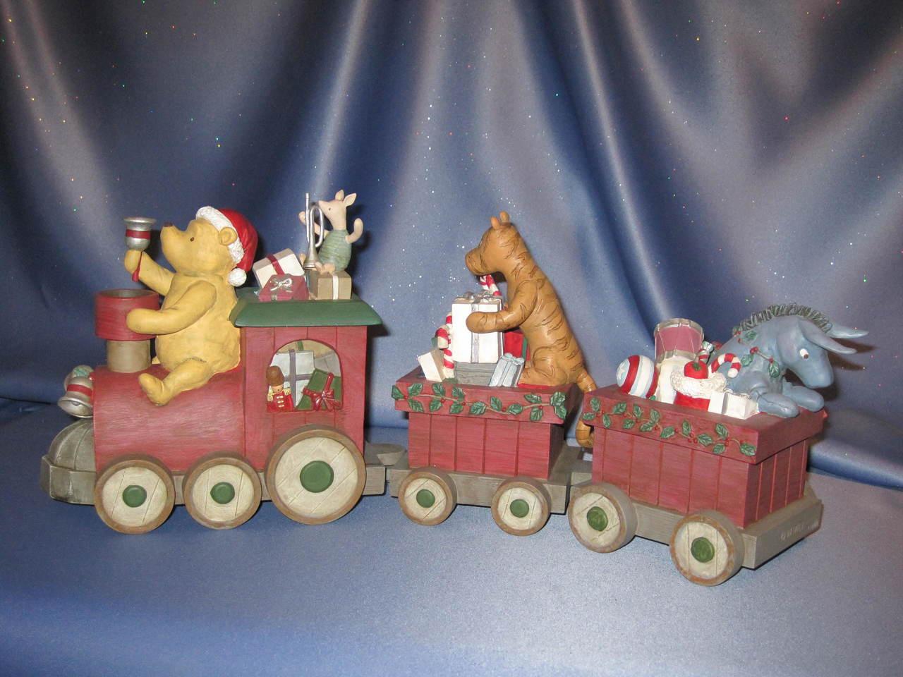 Choo Choo Pooh Centerpiece by Michel & Company - Disney
