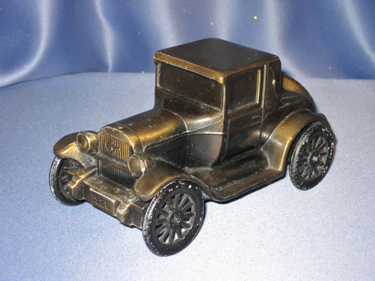"1926 ""Chief"" Pontiac Auto Coin Bank by Banthrico Inc."