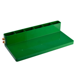 STONE AND GLASS NARROW SINK RAIL - PLASTIC CENTER BLOCK REPLACEMENT for 50 x 400 mm CUP