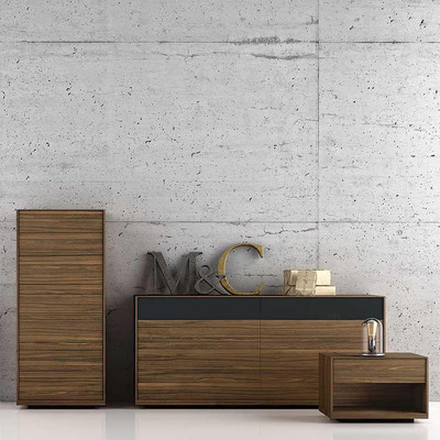 Grammercy Nightstand-2 Drawer