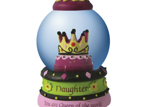 'Daughter' Decorative Water Globe