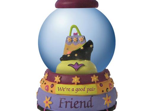 'Friend' Decorative Water Globe