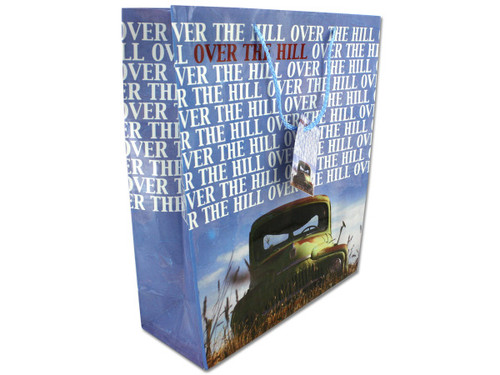 """Over the Hill"" medium gift bag"