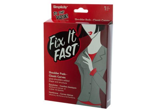 fix it fast shoulder pads