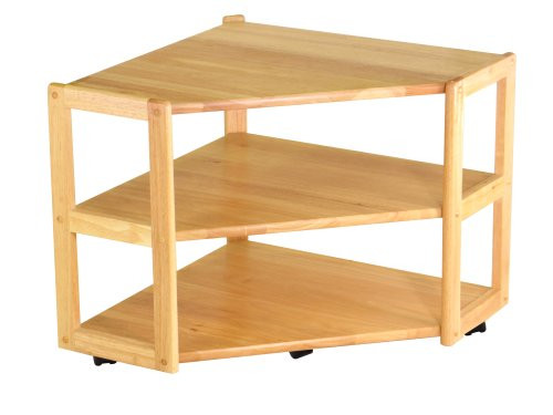 Winsome Wood Corner TV Stand, Natural