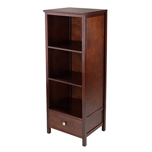 Winsome Wood Brooke Jelly Cupboard with 3 Shelves and Drawer