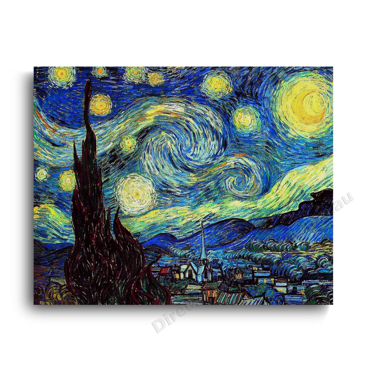 Vincent Van Gogh Starry Night Direct Art Australia