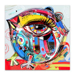 Big Eye Bird Art Print