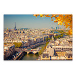 Beauty of the City of Love Art Print