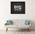 Believe in Self Art Print on the wall