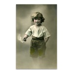 Adolescence Boy Wall Art Print