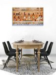 Ancient Egypt Scene Canvas Print on the wall