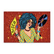 Disco Diva Canvas Art Print