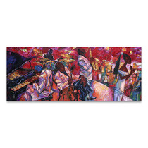 Jazz Club Art Print
