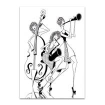 Jazz Trio Wall Art Print