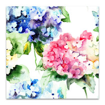 Bouquet Flowers Wall Art Print