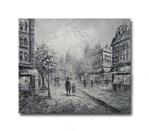 Dawn Three | Streetscape Interior Wall Art & Canvas Paintings