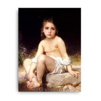 Wiiliam Bouguereau | Child at Bath