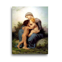 Wiiliam Bouguereau | Fraternal Love