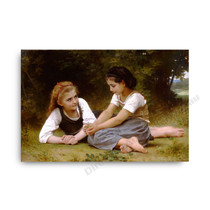 Wiiliam Bouguereau | The Nut Gatherers