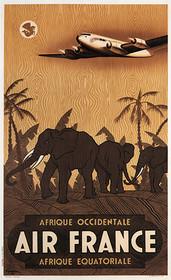 Vintage Poster Air France