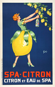 Vintage Spa Citron Lemon