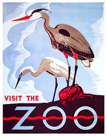 Vintage Visit Zoo