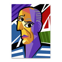 Cartoon Picasso Art Print