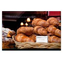 Croissant in Paris Art Print