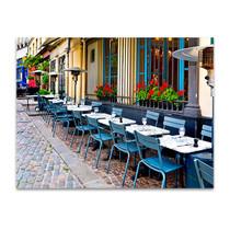 Vintage Restaurants in France Art Print
