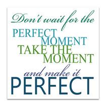 Make It Perfect Art Print