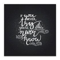 Try to Know Art Print