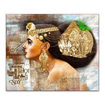 Egyptian Woman Canvas Print