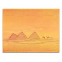 Pyramid Of Giza Wall Art Print